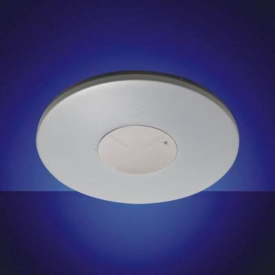 Smart LED ceiling lamp, with dark area